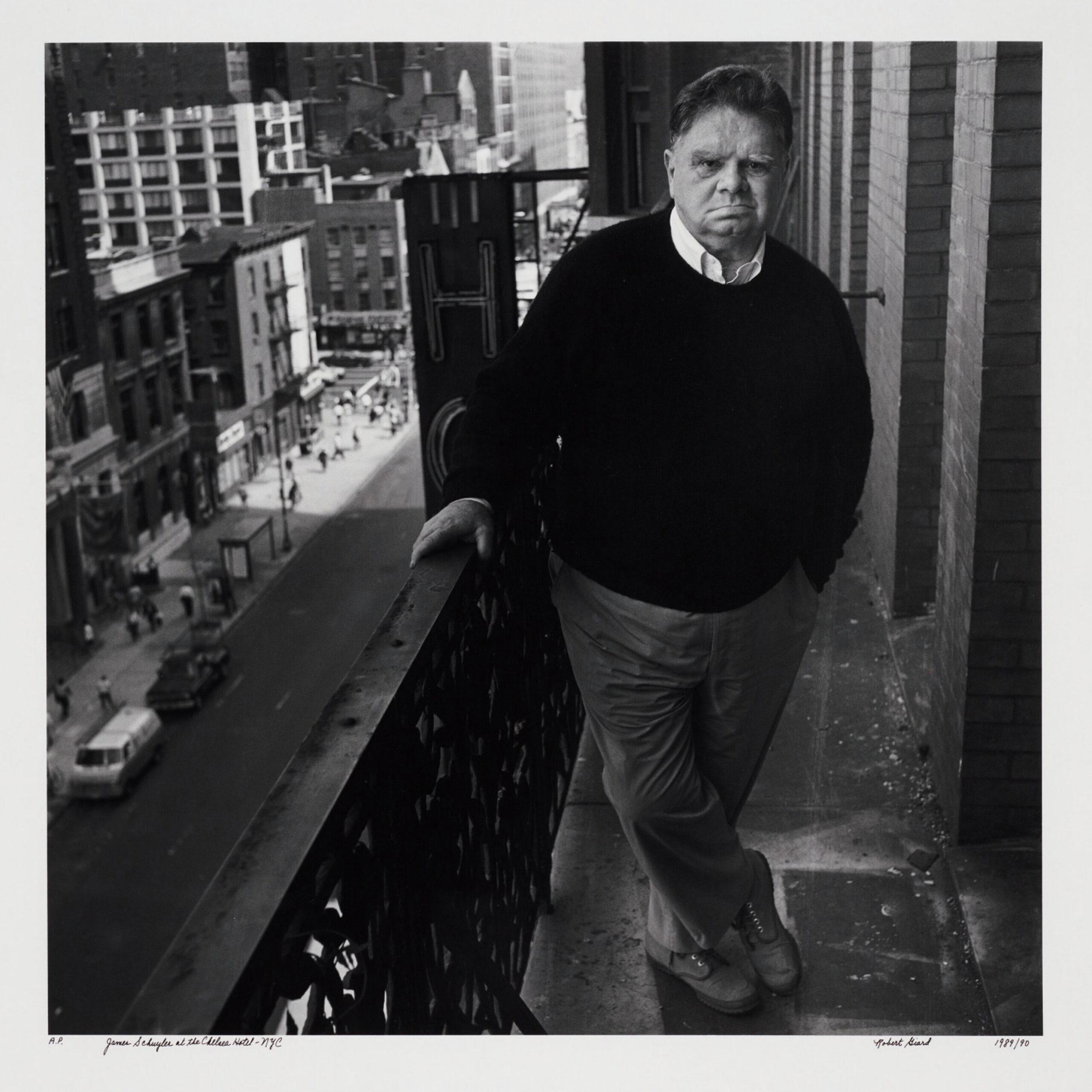 James Schuyler, 1989