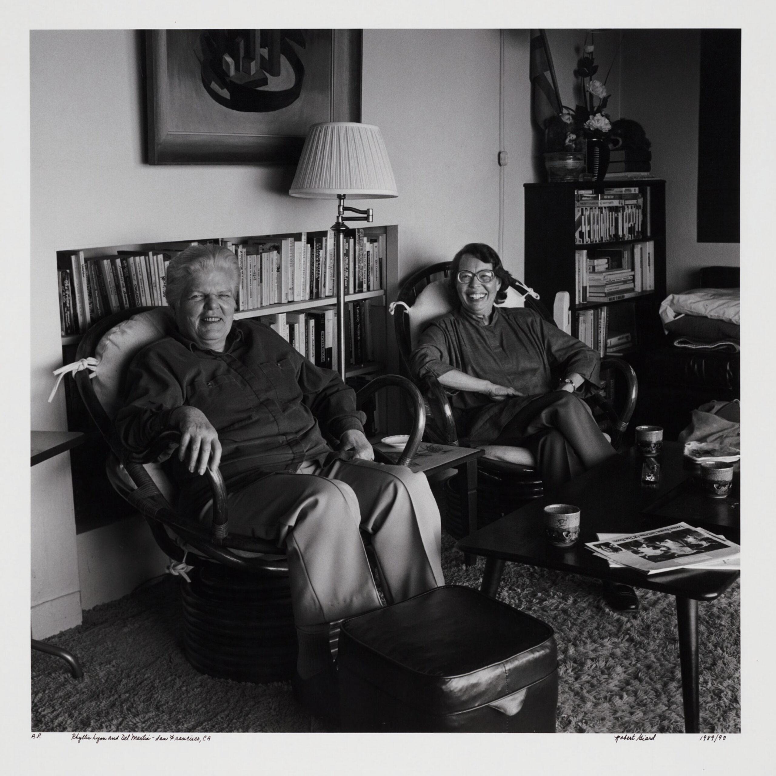 Phyllis Lyon and Del Martin, 1989