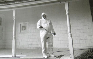 house painter in white