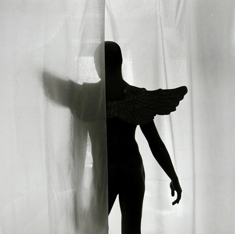 Male Nude Wearing Angel Wings, 1994